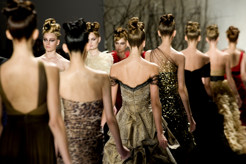 MONIQUE LHUILLIER – F/W 2011
