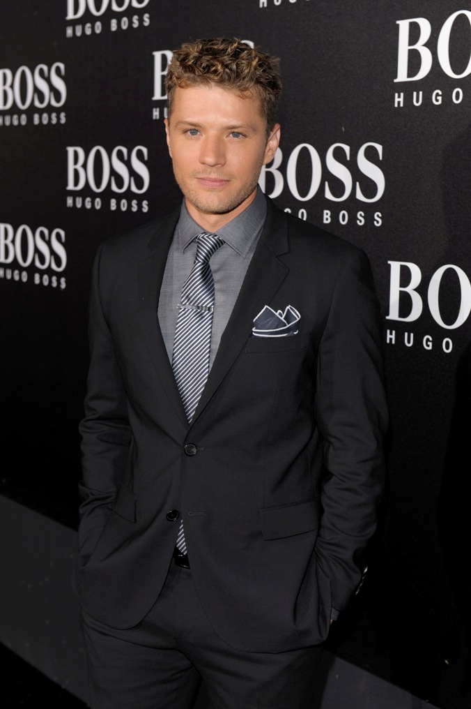 "Ryan Phillippe (Outfit: BOSS Black)  BOSS Black / BOSS Selection Fashion Show and Party Beijing / Fall / Winter 2012 Collection Womenswear and Menswear at  ""China National Agricultural Exhibition Center"", Beijing, 18.05.2012Agency People Image (c.) Michael Tinnefeld"
