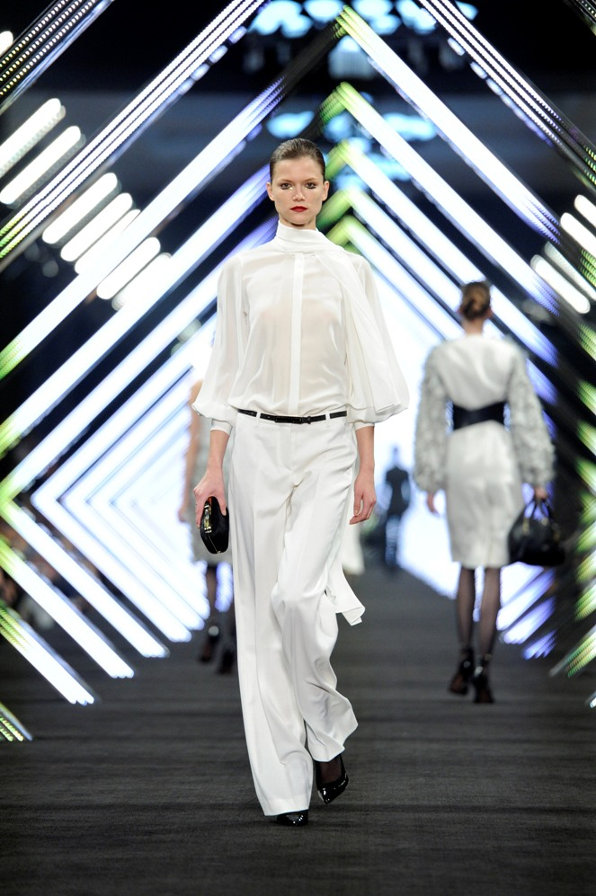 """SHOW Model BOSS Black, Kasia StrussBOSS Black / BOSS Selection Fashion Show and Party Beijing / Fall / Winter 2012 Collection Womenswear and Menswear at  """"China National Agricultural Exhibition Center"""", Beijing, 18.05.2012Agency People Image (c.) Michael Tinnefeld"""