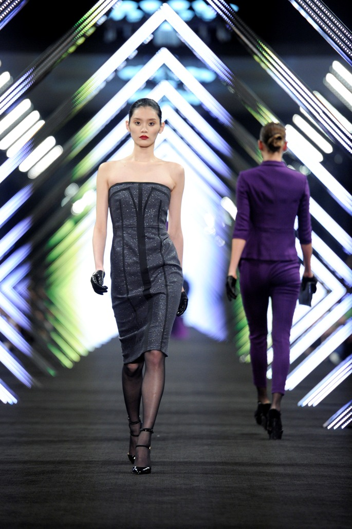 """SHOW, BOSS Black BOSS Black / BOSS Selection Fashion Show and Party Beijing / Fall / Winter 2012 Collection Womenswear and Menswear at  """"China National Agricultural Exhibition Center"""", Beijing, 18.05.2012Agency People Image (c.) Michael Tinnefeld"""