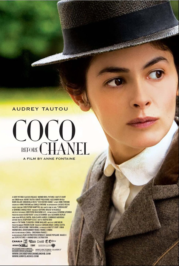 Coco Before Chanel movie poster