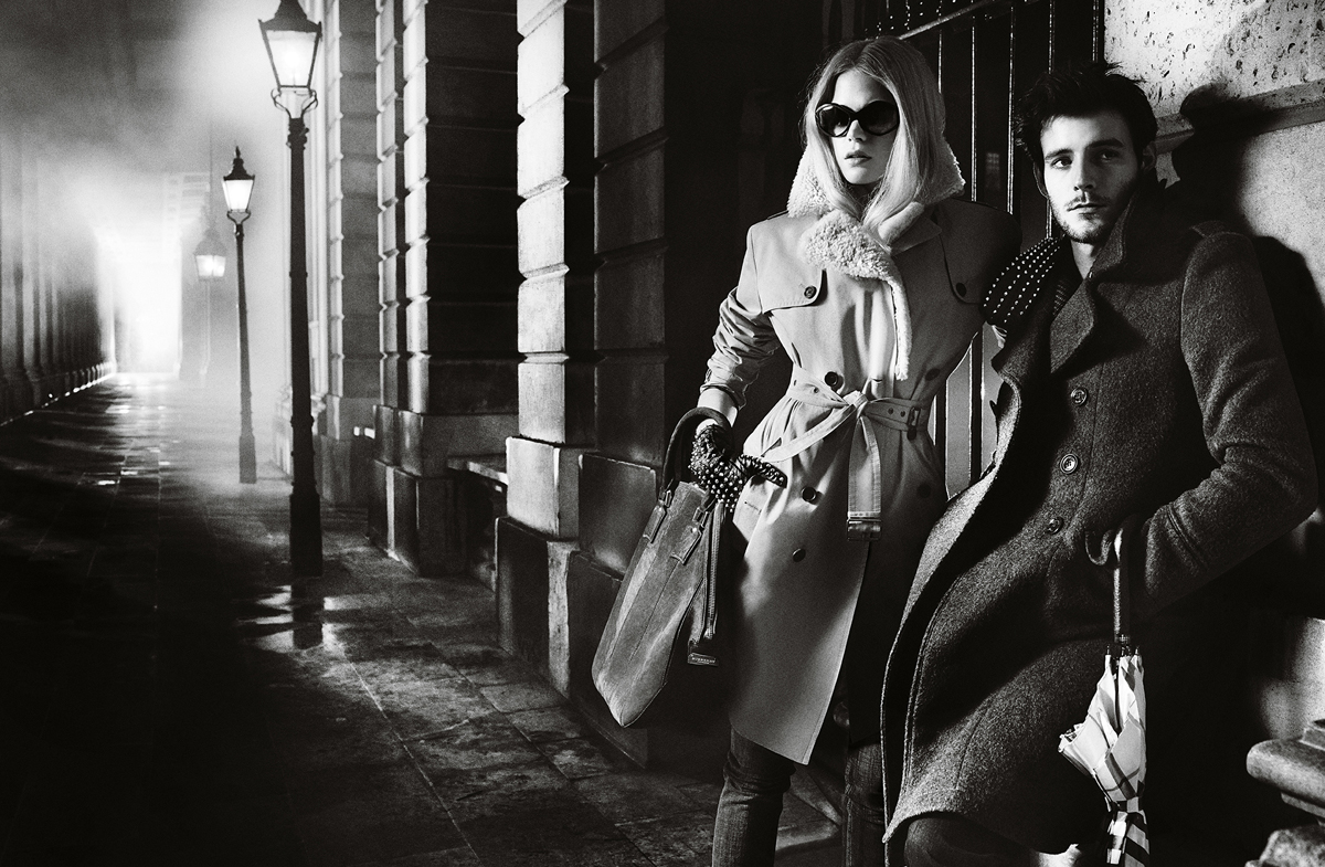 sBurberry Autumn Winter 2012 Ad Campaign featuring Gabriella Wilde and Roo Panes