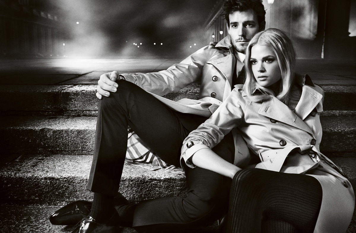 sBurberry Autumn Winter 2012 Ad Campaign featuring Gabriella Wilde and Roo Panes2