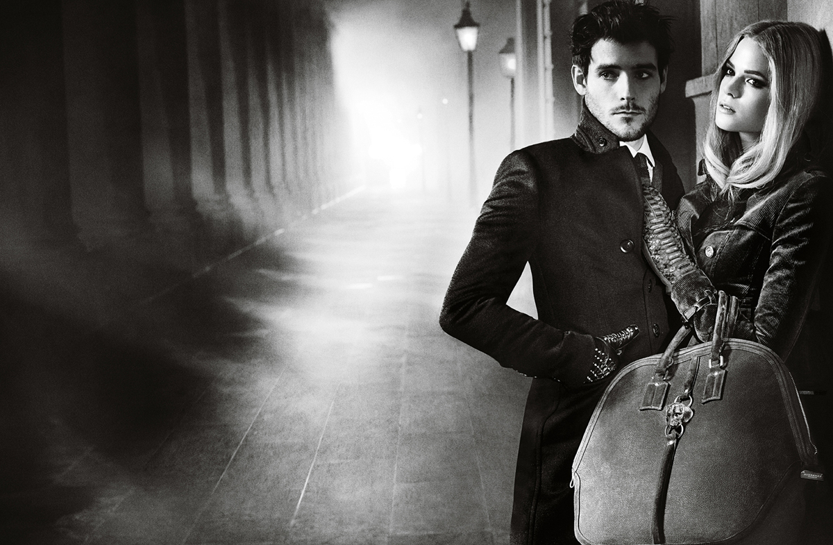 sBurberry Autumn Winter 2012 Ad Campaign featuring Gabriella Wilde and Roo Panes3