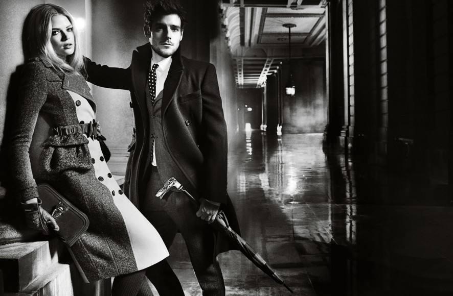 sBurberry Autumn Winter 2012 Ad Campaign featuring Gabriella Wilde and Roo Panes4