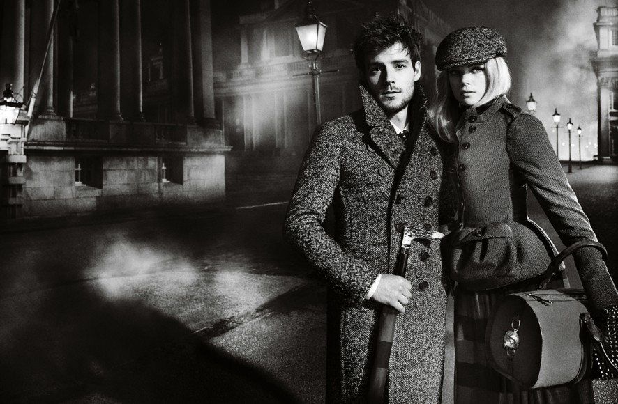 sBurberry Autumn Winter 2012 Ad Campaign featuring Gabriella Wilde and Roo Panes5