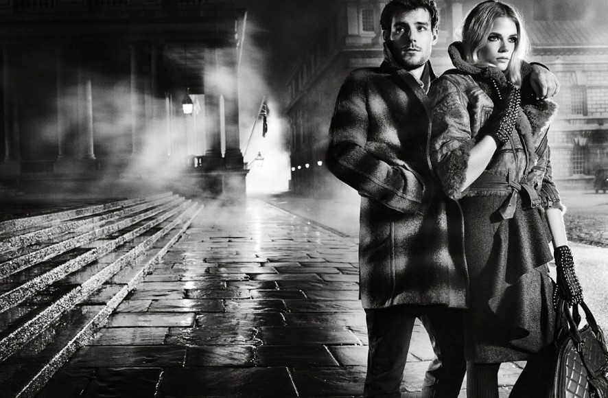 sBurberry Autumn_Winter 2012 Ad Campaign featuring Gabriella Wilde and Roo Panes8