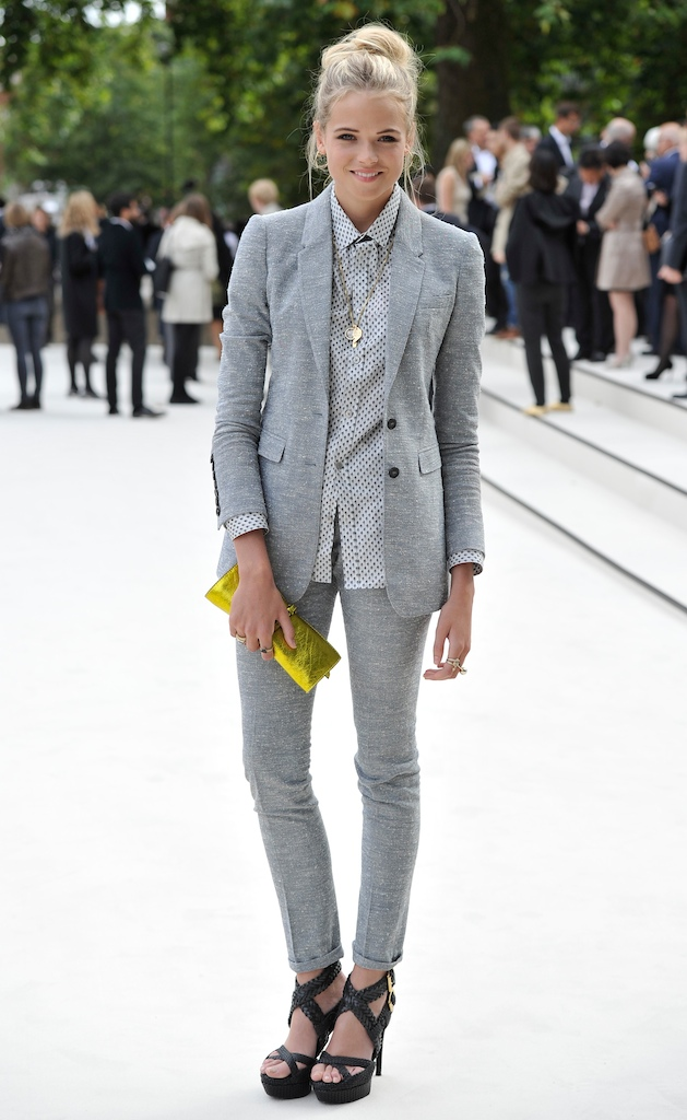 Burberry Spring Summer 2013 Womenswear Show - Arrivals