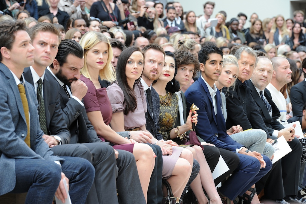 Burberry Spring Summer 2013 Womenswear Show - Front Row
