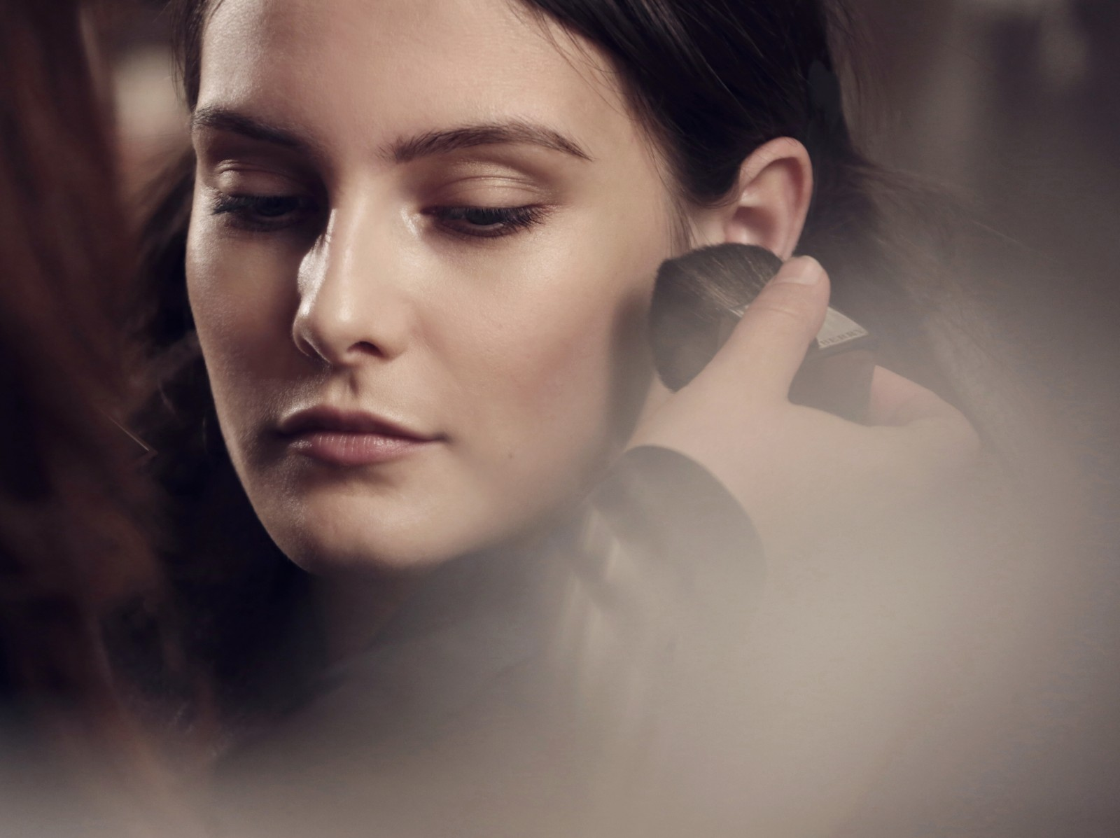 burberry make up at the burberry prorsum womenswear autumn winter 2013 show - the look