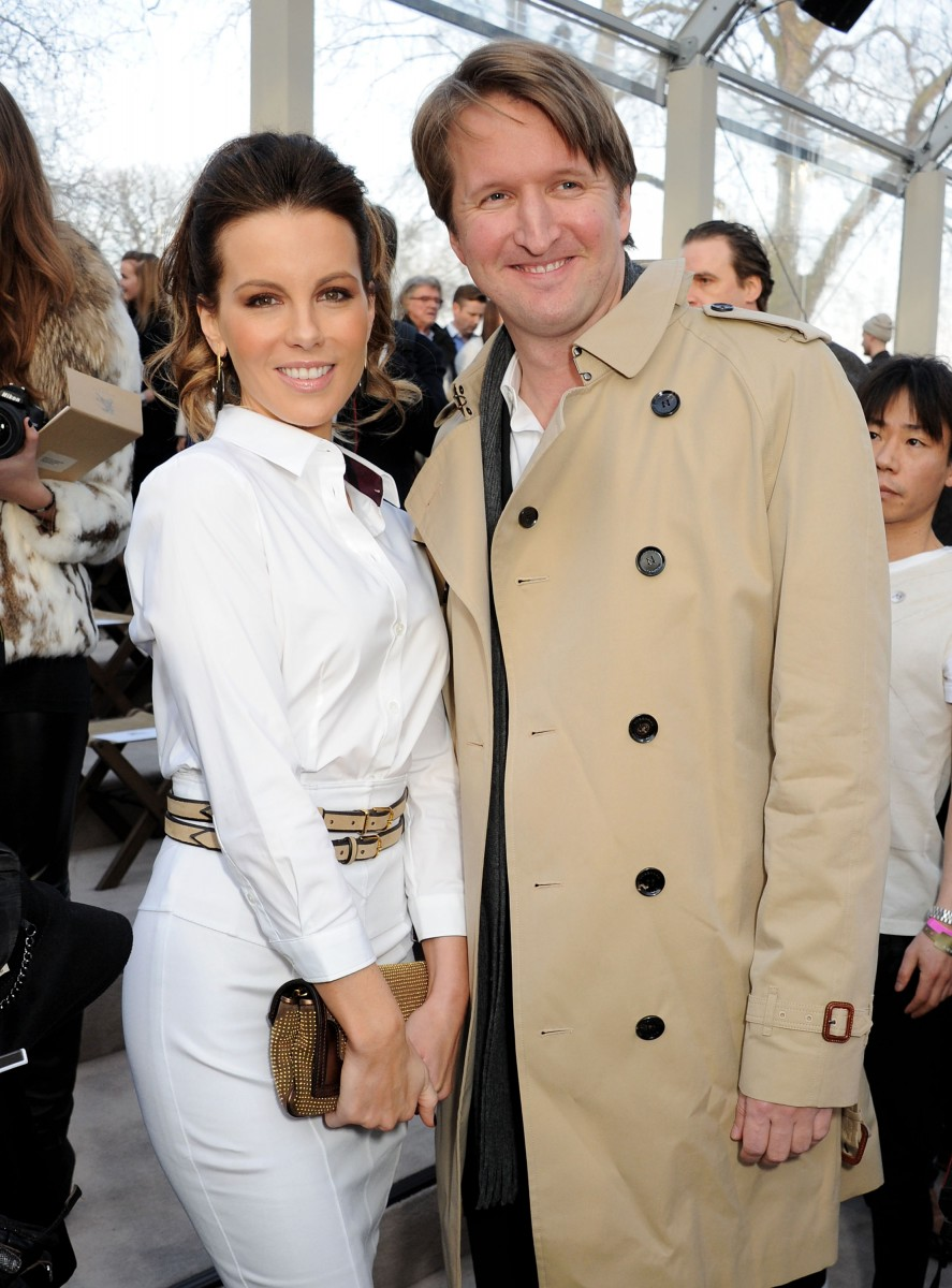 kate beckinsale and tom hooper at the burberry prorsum womenswear autumn_winter 2013 show
