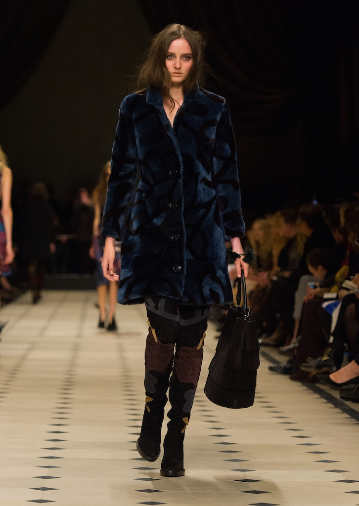 Burberry Womenswear Autumn_Winter 2015 Collection - Look 22
